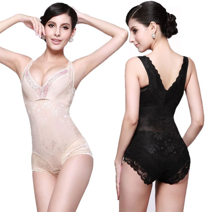 Frau Körper Korsett Body Frauen Shapewear Plus Größe S ~ XXL Körperformer Taillentrainer Cincher Korsetts Stoßheber
