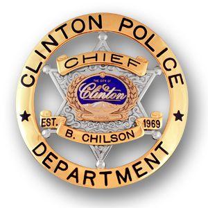 Clinton-Police-Badge