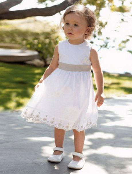 Robe ceremonie bapteme bebe fille