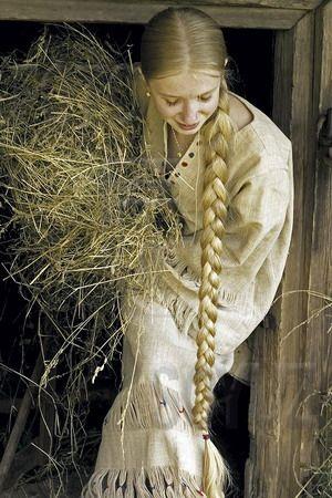Ах, эта девичья коса, эта редкая краса | Родное