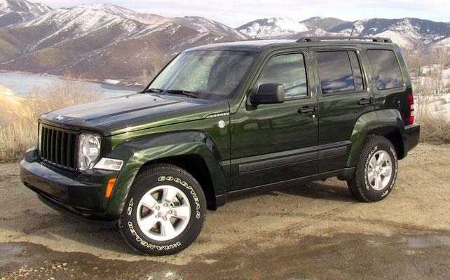 2012 Jeep Liberty. Jeep Green, my favorite c: