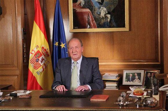 Rey Juan Carlos 'Quiero lo mejor para España y una nueva generación reclama con justa causa el papel protagonista' #realeza #royalty #ElreyAbdica