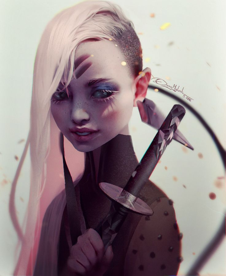 SWORD, DangMyLInh ART on ArtStation at https://www.artstation.com/artwork/kOB6x