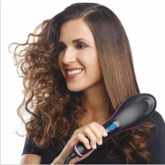 อย่าช้า  Simply Straight Ceramic Straightening Brush Hair Straightener -intl  ราคาเพียง  588 บาท  เท่านั้น คุณสมบัติ มีดังนี้ Simply Brush to Smooth & Straighten Salon Quality Results Great For All Hair Types Heats Up to 450 Degrees Farenheit Anti-Frizz Ionic Fast 2 Minute Heat Up As Seen On TV