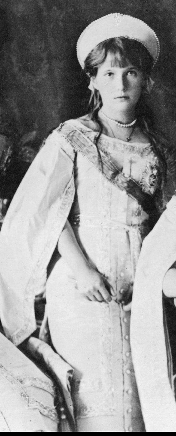 Grand Duchess Anastasia Nikolaevna.