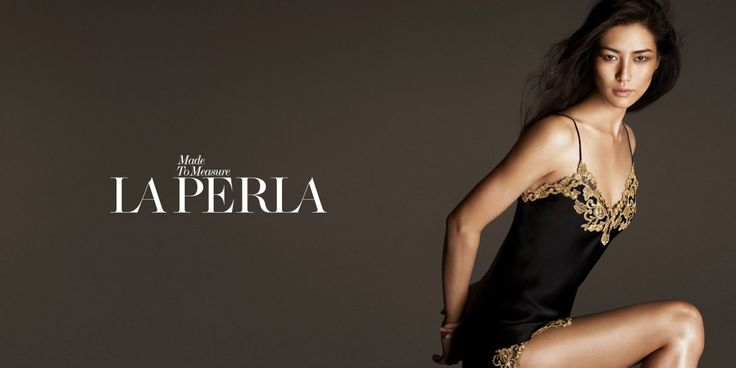 La Perla Fall/Winter Made to Measure Advertorial Campaign with Liu Wen.