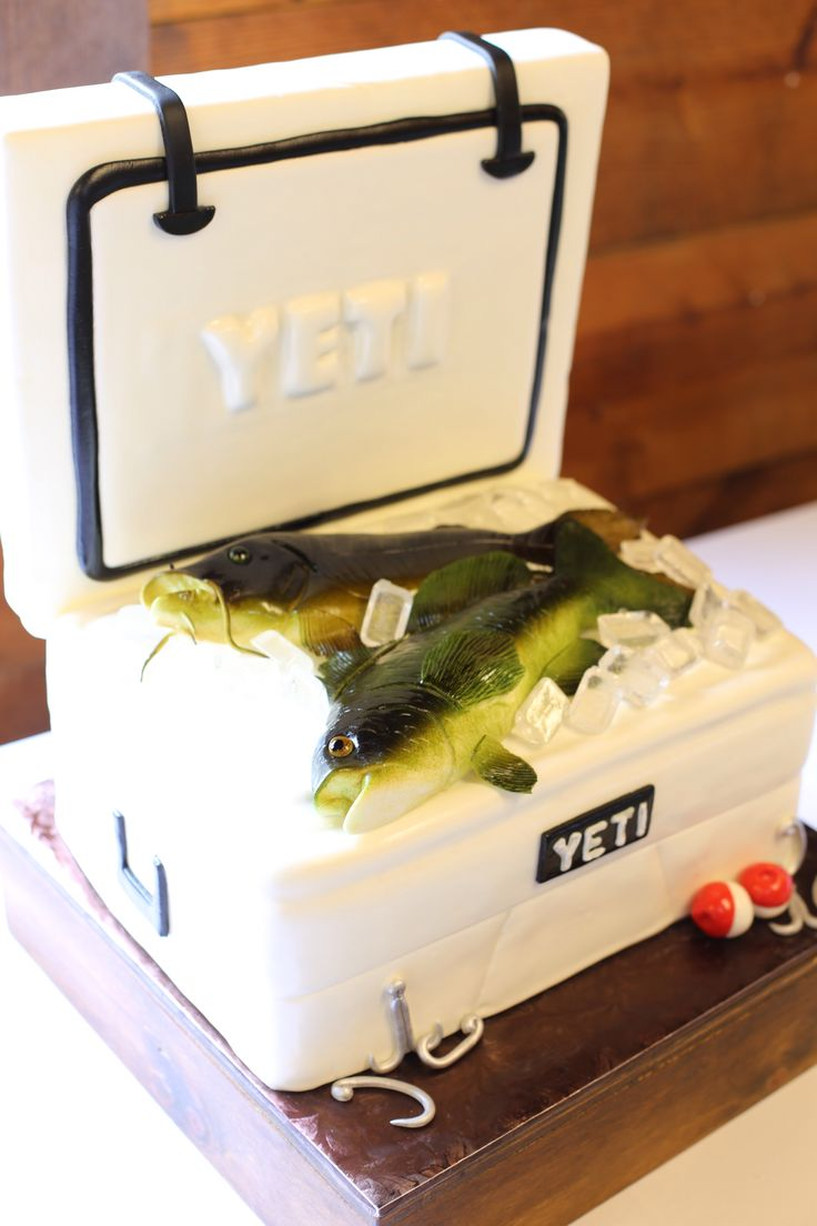 25 best ideas about grooms cake tables on pinterest for Best fishing coolers