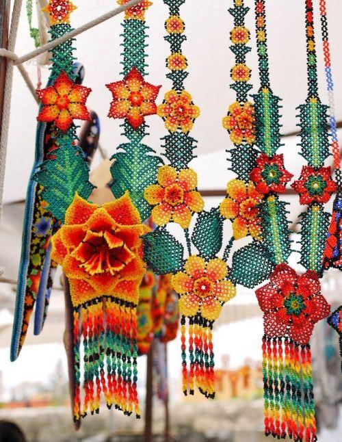Beaded Flowers Huichol
