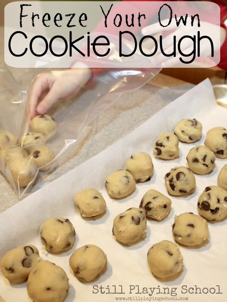 How to Freeze the Best Chocolate Chip Cookies for Your Own Frozen Cookie Dough