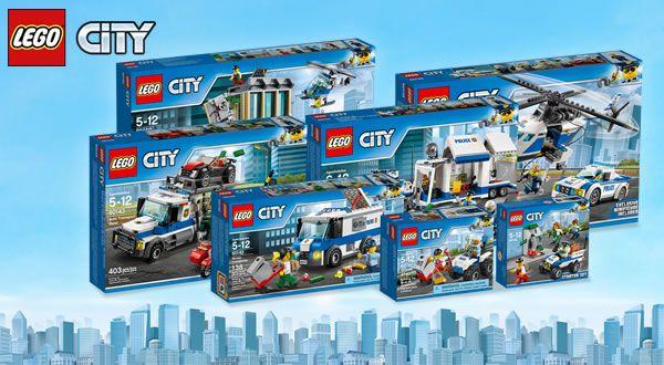Concours chez LEGO : La nouvelle collection CITY Police à gagner: Si vous avez un peu de temps devant vous, ne ratez pas cette… #LEGO