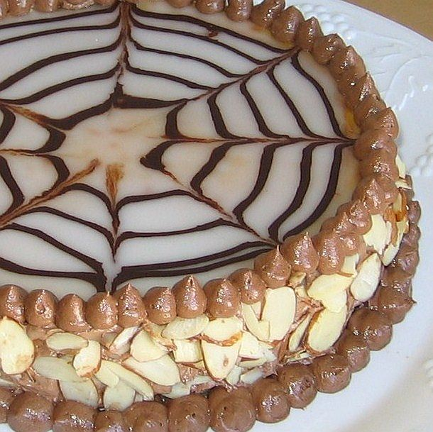 This is an easy version of Esterhazy torte, which is a rich multilayered Hungarian dessert.