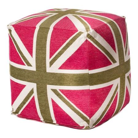 Commonwealth Cube in Fuchsia & Green
