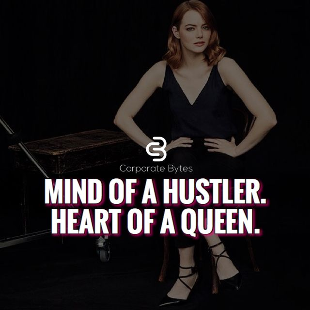 Mind of a hustler, heart of a queen