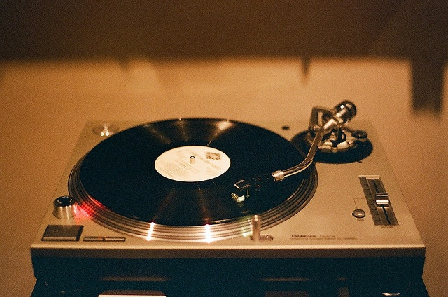 Record player.