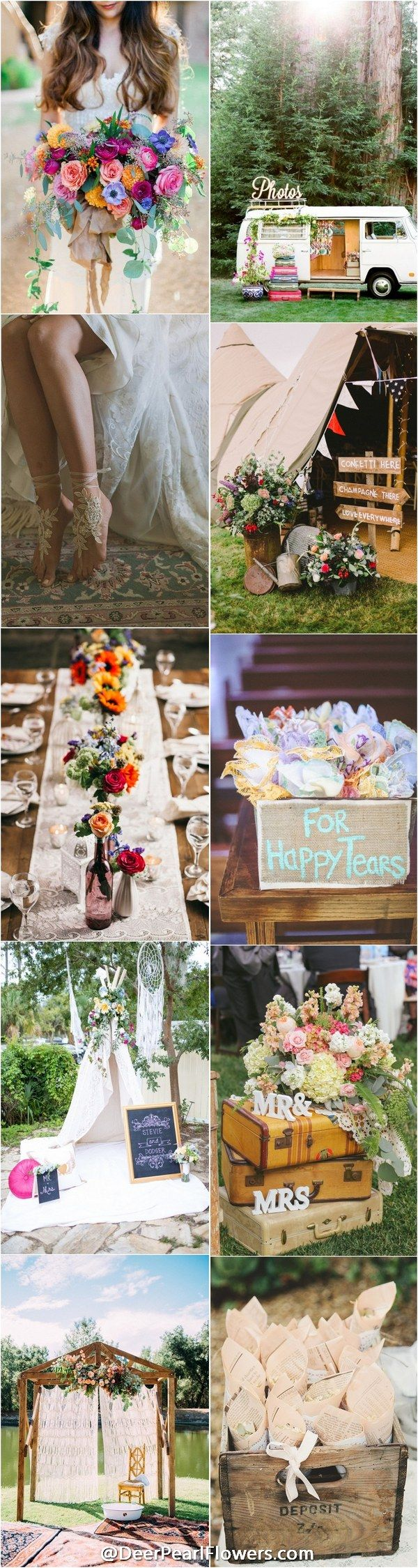 Best 25+ Bohemian Wedding Theme Ideas On Pinterest | 2017 Events, Whimsical  Wedding And Wedding Forrest