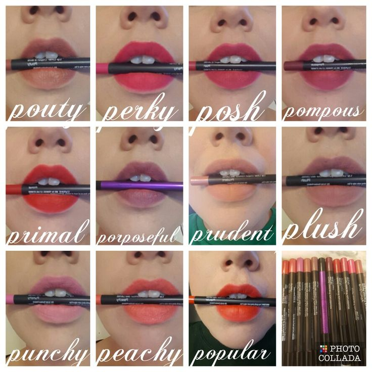 Younique new lip liner colors....love love love