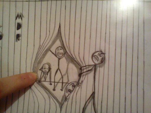 Draw Trompe Oeil Draw Jc Kid Crafts Pinterest Drawings