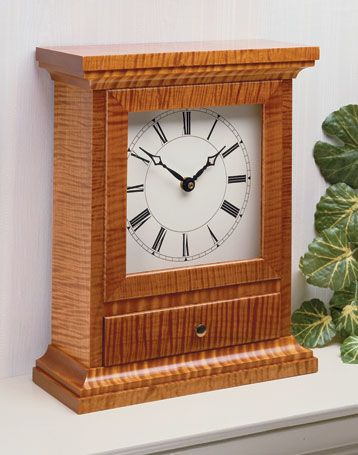 Mantel Clock | Woodsmith Plans