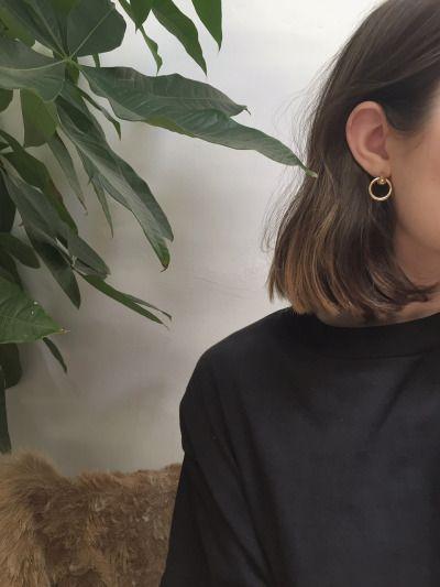 earrings // @ElisaFlwrfield