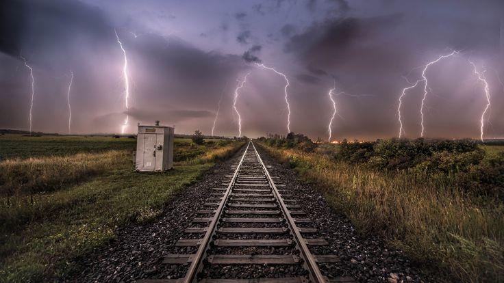 https://flic.kr/p/LhxDP9 | Night energy | Taken during a recent lightning storm in milton Ontario Canada.