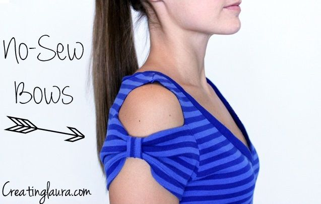 Bored of your old t-shirts? Here is an idea of how you can re-design an…