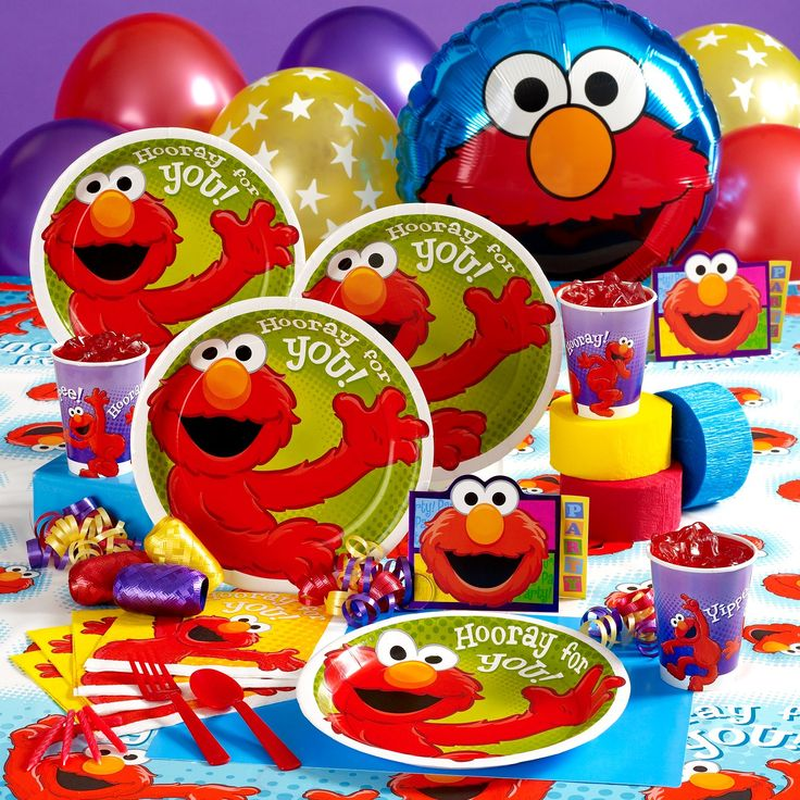 Elmo party packThis will be JJ's 2nd birthday theme.