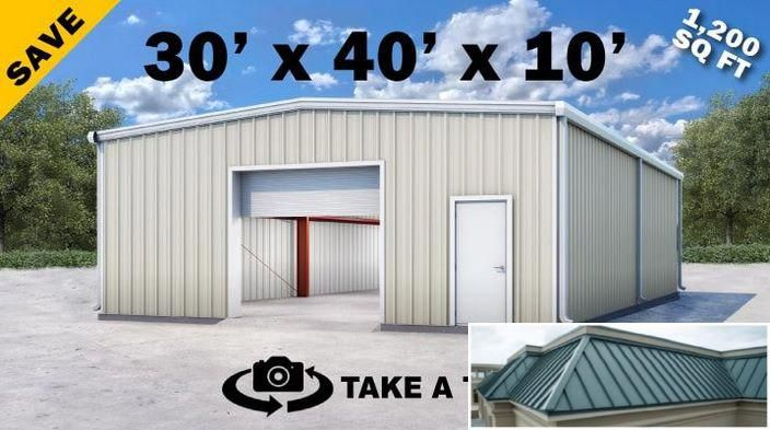 See These Metal Buildings With Carport Attachments Metal Buildings For Sale Metal Building Kits Metal Buildings