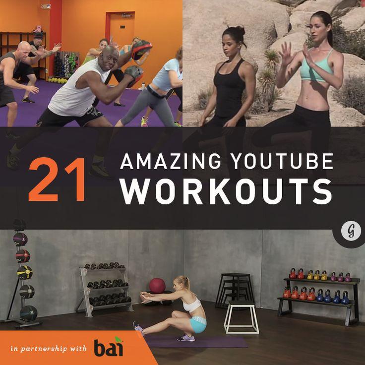 21 Amazing YouTube Workouts