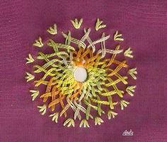 Shisha embroidery.