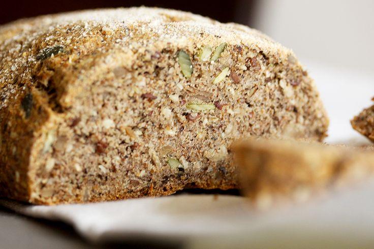 Ovo je prvi hleb koji sam napravila kada sam počela da se hranim prema principima hrono ishrane.