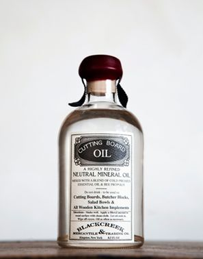 cutting board oil. by black creek mercantile. perfect gift for my husband, he's making cutting boards for our kitchen.