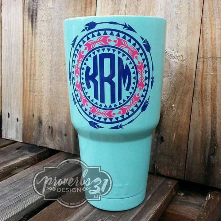 LOVE this newest decal! Perfect for Yeti cups (or the like), auto windows & boats!