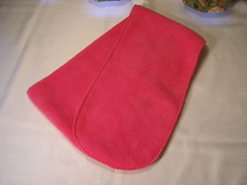Childs Fleece Scarf Bright Pink from Jacaranda £4.50