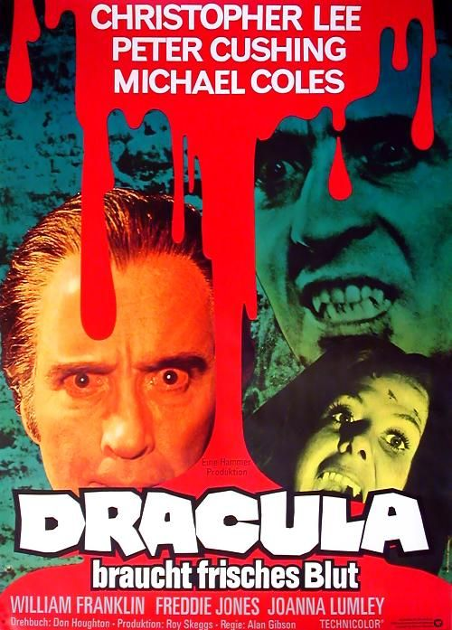 Dracula braucht frisches Blut / The Satanic Rites of Dracula (1973)