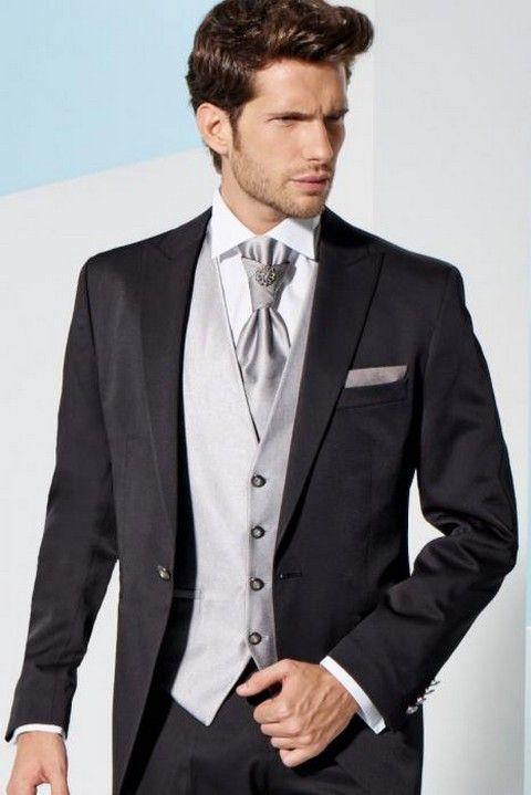 luuxusný pánsky oblek svadobný salón valery, luxusný oblek, čierny oblek, slim oblek
