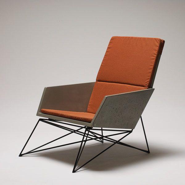 modern industrial design furniture. furniture concrete steel modern hard goods industrial design d