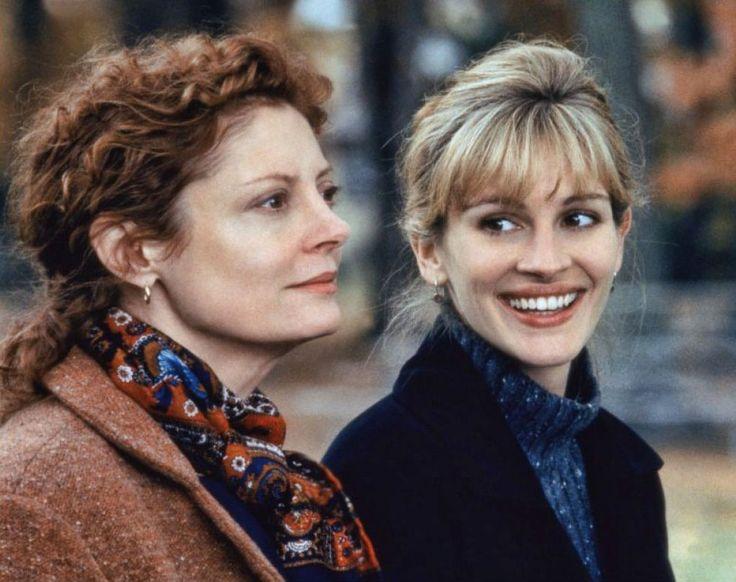 """Susan Sarandon y Julia Roberts en """"Quédate a mi lado"""", 1998"""