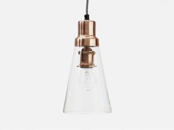 Hübsch Lampa Wisząca Glass II
