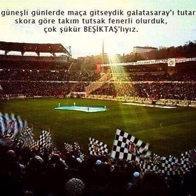 çok şükür Beşiktaşlıyız!