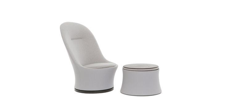 Eva easy-chair + table