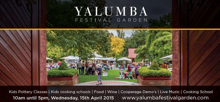Yalumba Festival Garden - 2015 Barossa Vintage Festival celebrations.   #BVF2015 #Barossa