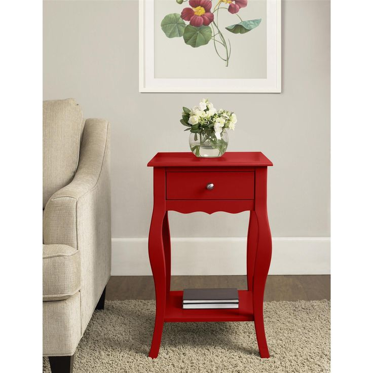 Altra Kennedy Small Accent Table (Small End table, grey)