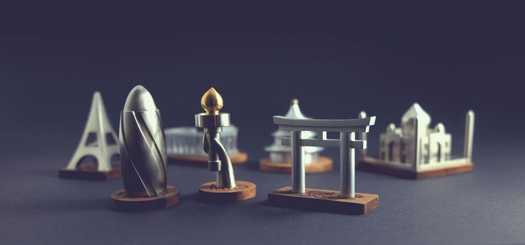 These Statuettes of Architectural Landmarks Offer a Stylish Alternative to Typical Souvenirs