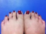 Corset on my Toes!