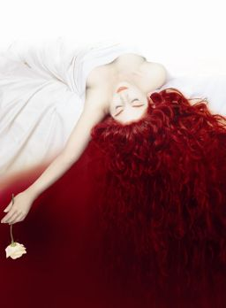 blood red hair ideas
