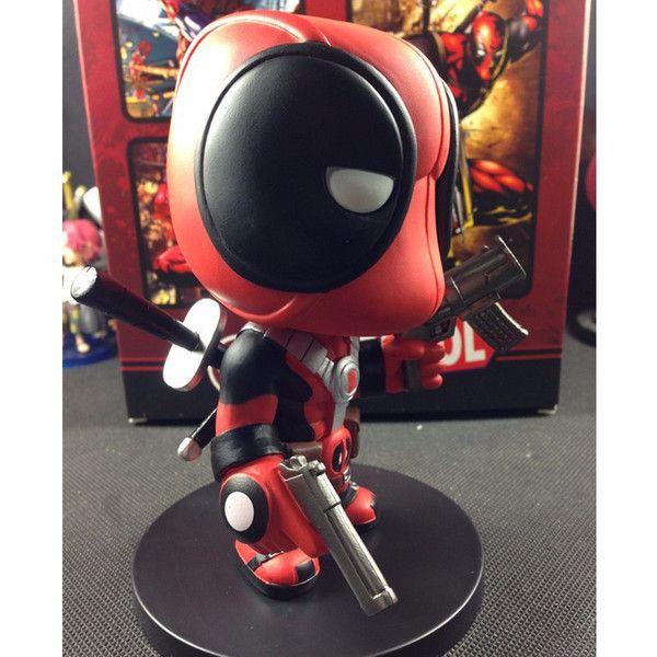 Deadpool Q Version PVC Action Figure Collectible