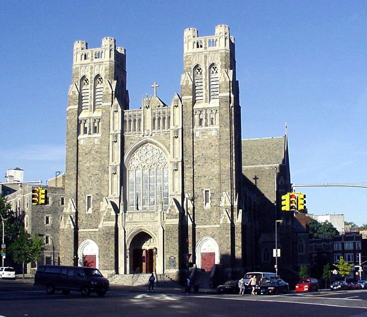 St. Nicholas of Tolentine Catholic Church - Bronx, N.Y.  my church, I lived right across the park