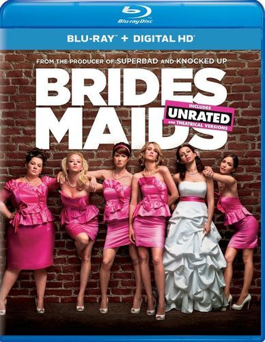 Bridesmaids [Includes Digital Copy] [UltraViolet] [With Pitch Perfect 2 Movie Cash] [Blu-ray] [2011]