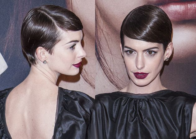 Another way to wear your pixie.  Anne does it right!-pin it from carden