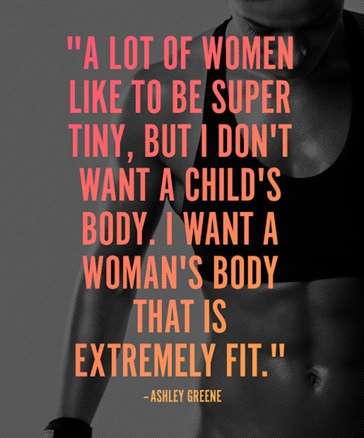 Yes.. I want curves .. Healthy curves...